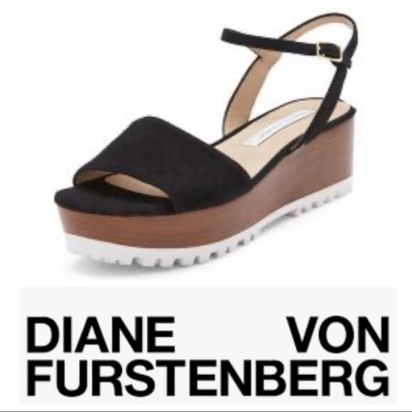 DVF Jessie Flatform Sandal
